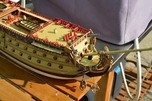 Maquette Soleil Royal en construction