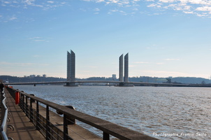 Inauguration de Pont Chaban Delmas