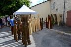 Foire aux Paniers et à la Vannerie 2014 à Issigeac en Dordogne