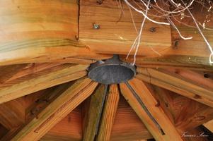 Intérieur de cabane