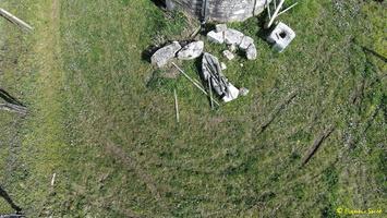 Photos prises par drone - Moulin à vent de Marquet du XVIII siècle (1)_GF