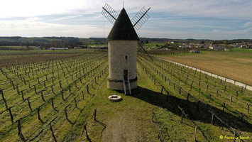 Photos prises par drone - Moulin à vent de Marquet du XVIII siècle (32)_GF