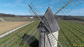 Photos prises par drone - Moulin à vent de Marquet du XVIII siècle (35)_GF