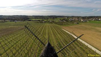 Photos prises par drone - Moulin à vent de Marquet du XVIII siècle (36)_GF
