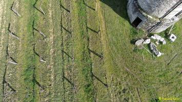 Photos prises par drone - Moulin à vent de Marquet du XVIII siècle (4)_GF