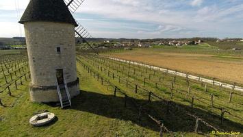 Photos prises par drone - Moulin à vent de Marquet du XVIII siècle (41)_GF