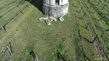 Photos prises par drone - Moulin à vent de Marquet du XVIII siècle (5)_GF