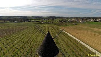 Photos prises par drone - Moulin à vent de Marquet du XVIII siècle (55)_GF