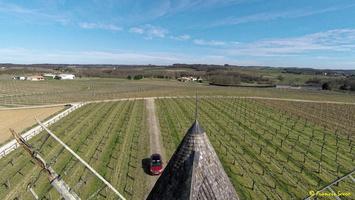 Photos prises par drone - Moulin à vent de Marquet du XVIII siècle (58)_GF