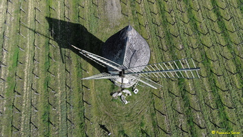 Photos prises par drone - Moulin à vent de Marquet du XVIII siècle (6)_GF