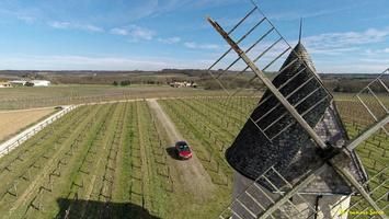 Photos prises par drone - Moulin à vent de Marquet du XVIII siècle (60)_GF