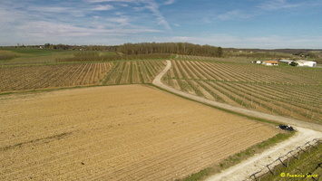 Photos prises par drone - Moulin à vent de Marquet du XVIII siècle (63)_GF