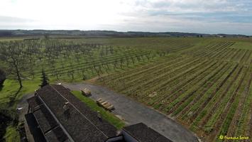 Photos prises par drone - Moulin à vent de Marquet du XVIII siècle (67)_GF