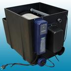 Filtration: Filtre tambour Superdrum-mini de air-Aqua + filtre bio de 1600 L avec tapis japonais.
