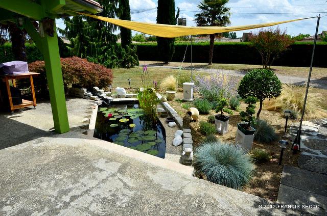 Bonsaï et jardin Japonais / Mon jardin japonais avec bassin ...