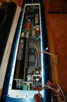 Vue de l'intérieur du caisson étanche avec sa partie électronique