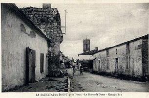 La route de Duras - Grande rue