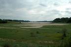 Lac de l'Escourou en 2005 (Sécheresse)