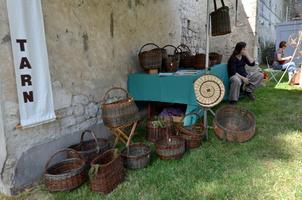 Fête de la vannerie à Issigeac