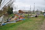 Championnat Départemental de descente sprint 2015 de kayak