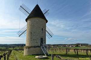 Photo prise avec Reflex Nikon D7000 - Moulin à vent de Marquet du XVIII siècle (19)