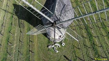 Photos prises par drone - Moulin à vent de Marquet du XVIII siècle (12)_GF