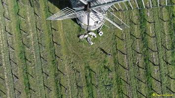 Photos prises par drone - Moulin à vent de Marquet du XVIII siècle (2)_GF