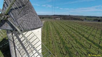 Photos prises par drone - Moulin à vent de Marquet du XVIII siècle (25)_GF