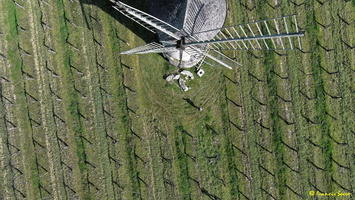 Photos prises par drone - Moulin à vent de Marquet du XVIII siècle (3)_GF