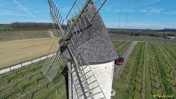 Photos prises par drone - Moulin à vent de Marquet du XVIII siècle (33)_GF