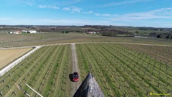 Photos prises par drone - Moulin à vent de Marquet du XVIII siècle (40)_GF