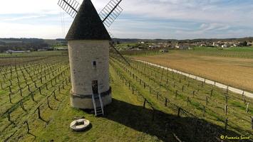 Photos prises par drone - Moulin à vent de Marquet du XVIII siècle (42)_GF