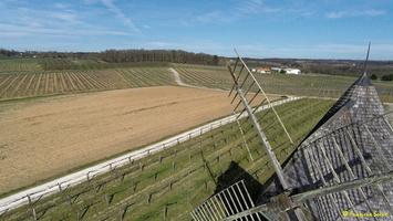 Photos prises par drone - Moulin à vent de Marquet du XVIII siècle (57)_GF
