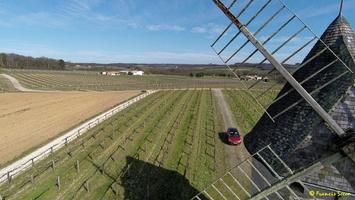 Photos prises par drone - Moulin à vent de Marquet du XVIII siècle (66)_GF